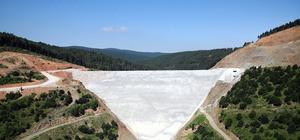 Akçay Barajı'nda yılda 45 milyon kilovat enerji üretilecek