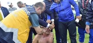 Milletvekili adayı doktor yaralıya ilk müdahalede bulundu