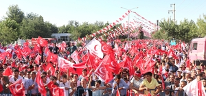 Temel Karamollaoğlu'nun Diyarbakır mitingi