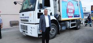 Başkan Karalar'dan Karaisalı, Pozantı ve Karataş'a çöp kamyonu