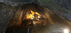 Dupnisa mağarasına ziyaretçi ilgisi
