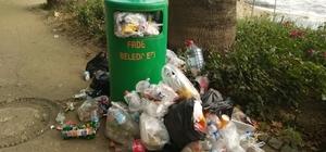 Erdek'i çöp götürüyor Bayram tatilini Erdek'te geçirenler çöplerden şikayet etti
