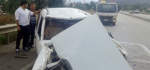 Bayram dönüşü otomobil takla attı: 5 yaralı