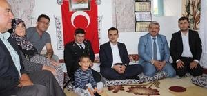 Başkan Fetir Karabulut: Şehit ailelerine sahip çıkmak bizim asli görevimizdir.