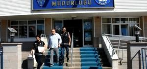 Polisin imzasını taklit ederek sertifika veren şahıs tutuklandı