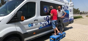 ASAT mobil aracı Manavgat'ta