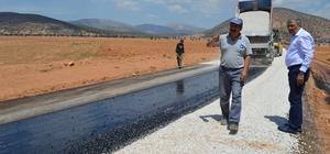 Serik ve Korkuteli'de asfalt çalışması