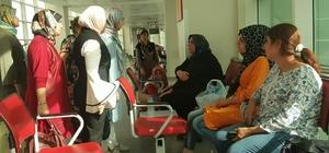 MHP'li kadınlar çalmadık kapı bırakmıyor