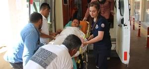 Tırın çarptığı çocuk yaralandı