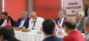 Elvan MESİAD'ın toplantısına katıldı