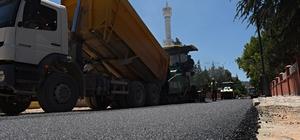 Turhal'da asfalt çalışmaları devam ediyor