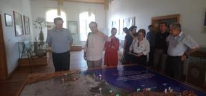 Avrupa Birliği delegasyonu Milli Park tanıtım merkezini ziyaret etti