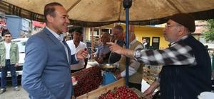 Saimbeyli Kültür Sanat ve Kiraz Festivali Adana Büyükşehir Belediye Başkanı Hüseyin Sözlü, Saimbeylili vatandaşların alternatif tarım ürünleri yetiştiriciliğine de yönelmesi gerektiğini belirtti
