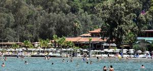 Bayram tatili bitti, sahiller yabancı turistlere kaldı