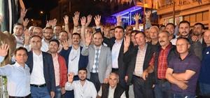 AK Parti MKYK Üyesi Baybatur Demirci'de