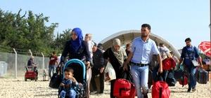 Ramazan Bayramı'nı ülkelerinde geçiren Suriyeliler'in dönüşü 26 Haziran'da başlıyor