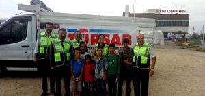 TÜRSAB'tan Samsatlı depremzedelere yardım