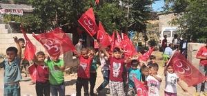 MHP'li Taşdoğan Nurdağı'nın kırsal mahallerini ziyaret etti