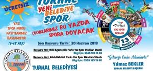 Turhal Belediyesi Yeni Belediye Spor  Kulübü yaz spor okulları kayıtları devam ediyor.