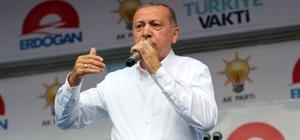 """Erdoğan: """"Osmanlı tokadını sandıkta vuracağız"""" Samsun meydana sığmadı"""