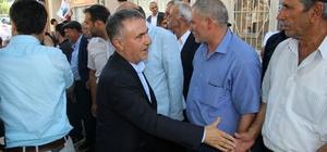 Ebubekir Bal'dan Ergani, Çermik ve Çüngüş ilçelerine çıkarma Bir günde 3 ilçe ile köylerini gezen Ebubekir Bal, vatandaşlarla buluştu