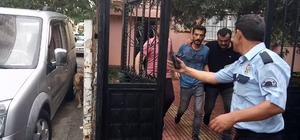 Saldırgana linç girişimini polis önledi