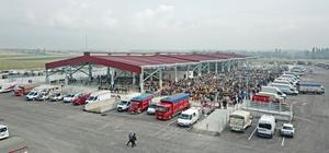 Çorum'da yapımı tamamlanan yeni hayvan pazarı açıldı