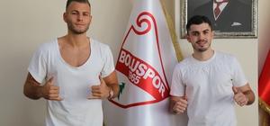 """Boluspor, 2 oyuncuya daha imza attırdı Bolsupor Başkanı Necip Çarıkcı: """"Toplam 11 transferle işi bitireceğiz"""""""