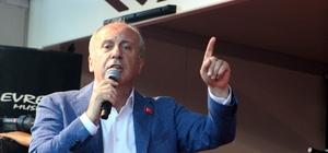 """CHP'nin Cumhurbaşkanı adayı İnce: """"Kilis'te, Kilisli mi çok Suriyeli mi çok, böyle bir devlet olur mu?"""""""