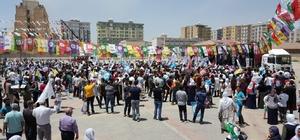 HDP'nin Kızıltepe ve Nusaybin mitingleri boş kaldı HDP'nin Mardin mitinglerinde alanlar boş kaldı