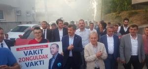AK Parti Mithatpaşa Mahallesinde gövde gösterisi yaptı
