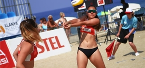 FIVB Plaj Voleybolu Dünya Turu Manavgat Open başlıyor