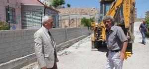 İncesu Belediye Başkanı Zekeriya Karayol Parke Çalışmalarını Yerinde İnceledi