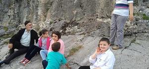 Eğrigöz Kalesi ve İkitaş Kanyonu'na ilgi her geçen gün artıyor
