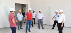 Adıyaman'da İslami İlimler Fakültesi binası eğitim için gün sayıyor