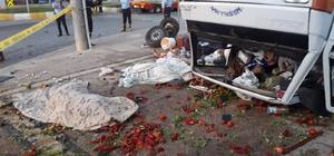 Mersin'de trafik kazası: 3 ölü, 6 yaralı