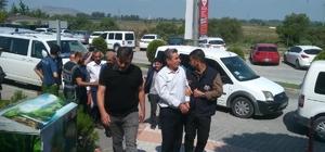 PKK'ya yardım ettiği ileri sürülen 5 kişi adliyeye sevk edildi