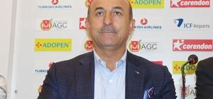 """Bakan Çavuşoğlu: """"21 Haziran'da ilk F-35'in teslimi için Türkiye davet edildi"""" (1) Dışişleri Bakanı Mevlüt Çavuşoğlu: """"Ben istedim iptal ettim' veya 'Türkiyeyi çıkarmak istiyorum' olmaz"""" """"Bugüne kadar F-35'ler için ödememiz gereken parayı ödedik"""""""