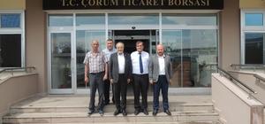 Uslu'dan Ticaret Borsası'na ziyaret