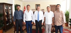Güvenlik Korucuları Derneğinden Vali Kalkancı'ya ziyaret
