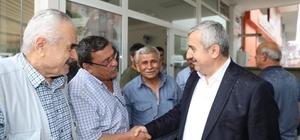 Başkan Baran seçim çalışmalarına devam ediyor