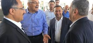 Milletvekili Erdoğan'dan sanayi sitesi esnafına ziyaret
