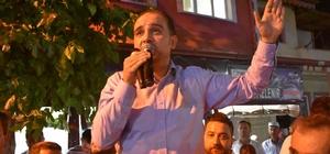"""Baybatur: """"24 Haziran'da bu milletten gerekli cevabı alacaklar"""" AK Parti'li Baybatur'a Kırkağaç'ta coşkulu karşılama"""