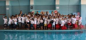 Hatay'da sevgi evlerindeki çocuklara ücretsiz yüzme kursu