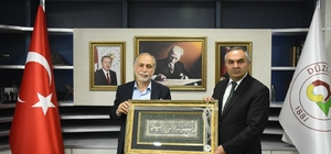 Hamza Cebeci'den Başkan Ay'a ziyaret