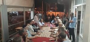 Başkan Alemdar, mahalle kahvehanelerine misafir oluyor