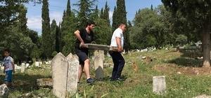 Osmanlıca yazılmış mezar taşları koruma altına alındı
