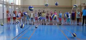 Manisa'da yaz spor okullarına büyük ilgi