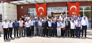 Başkan Kayda ve MHP'li Akçay muhtarlarla buluştu
