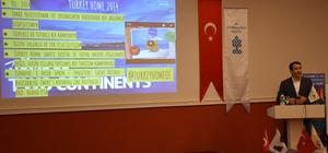 Marmaris'te turizmcilere dijital dünyada pazarlama anlatıldı